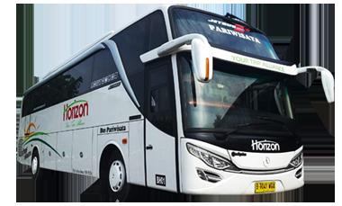 sewa bus pariwisata murah horizon transport