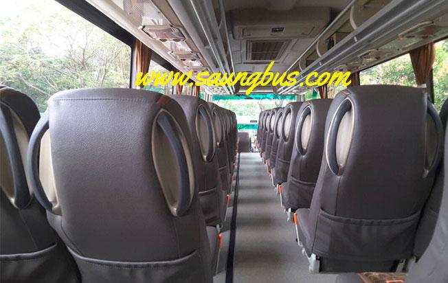 interior big bus pariwisata horizon jakarta