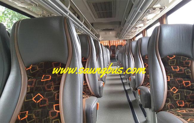 interior big bus pariwisata murah horizon jakarta