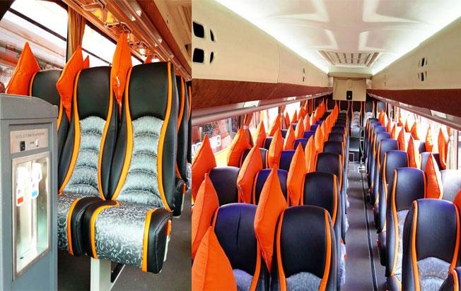 interior bus pariwisata mega citra