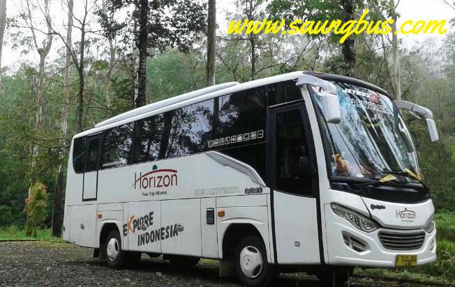 sewa bus murah di jakarta horizon transport
