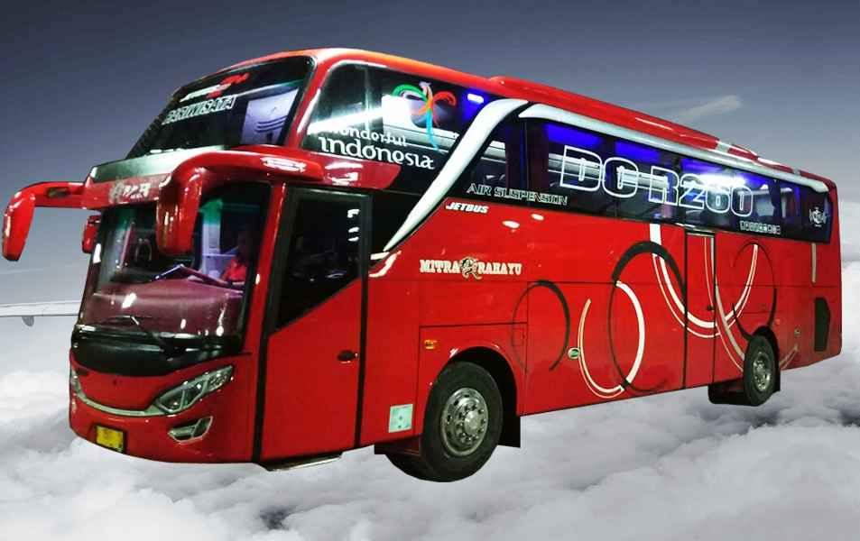 Hasil gambar untuk bus pariwisata mitra rahayu