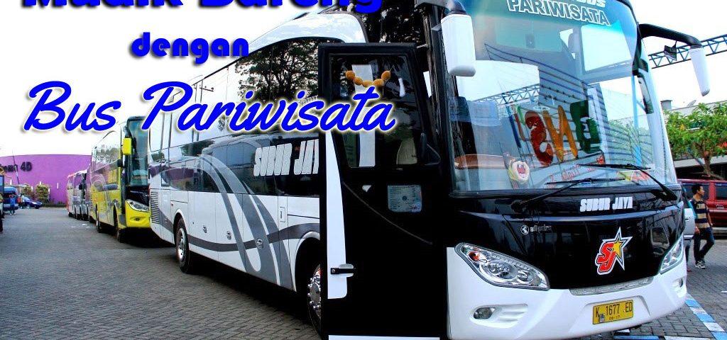 mudik bareng dengan bus pariwisata