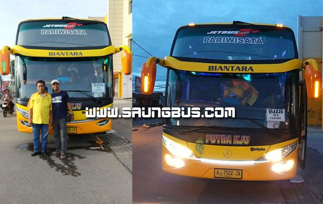 Crew bus pariwisata Putra KJU