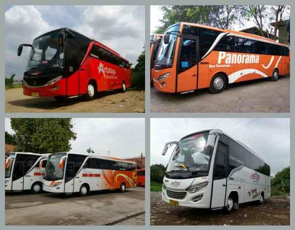 Jakarta sewa bus pariwisata murah