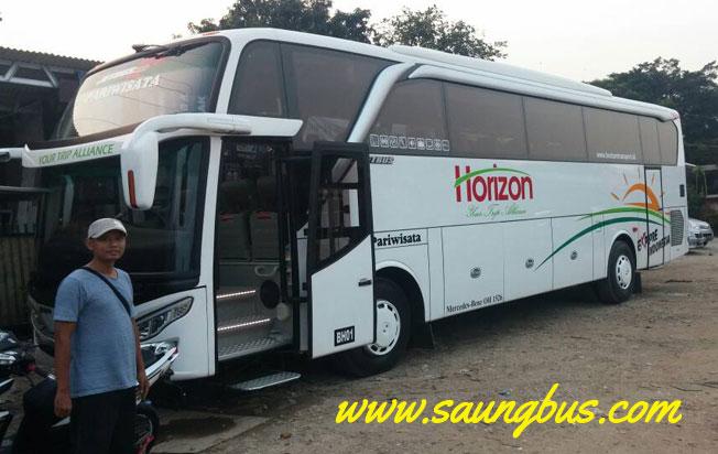 Bus pariwisata Shd horizon transport jakarta
