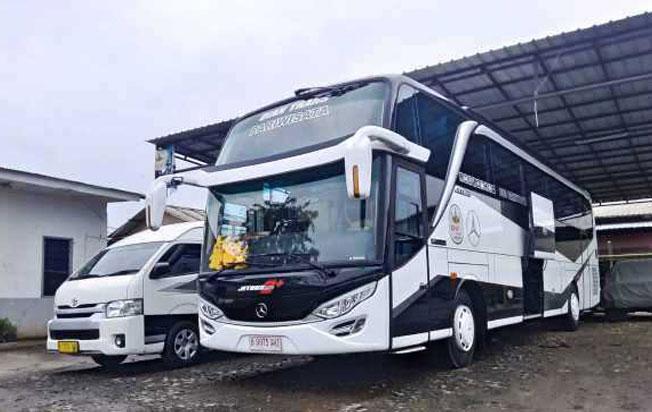 Sewa bus pariwisata dian trans big bus hdd