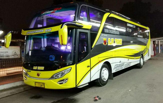 harga sewa bus pariwisata rjb trans superhdd murah