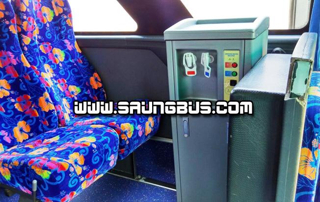 fasilitas big bus pariwisata Saner holidays jakarta